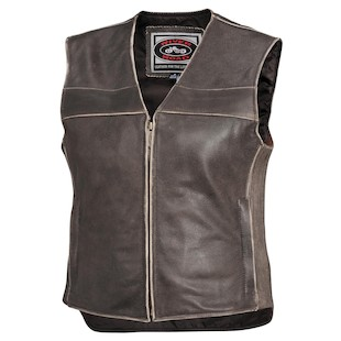 River Road Women's Drifter Leather Vest