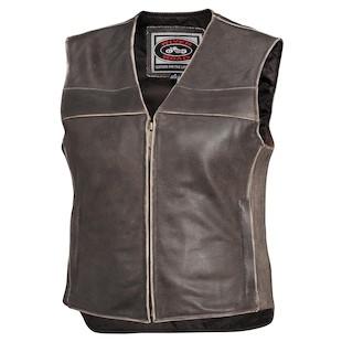 River Road Women's Drifter Leather Vest