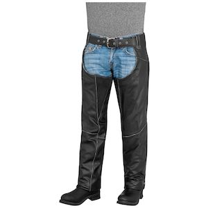 River Road Rambler Leather Chaps (Sz 3XL Only)