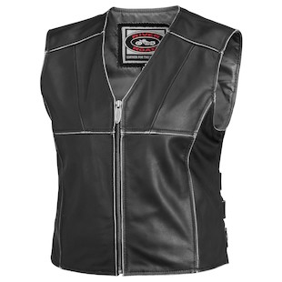 River Road Rambler Women's Leather Vest