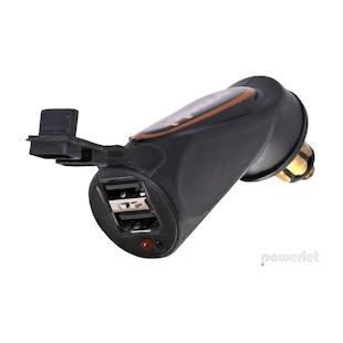 Powerlet Dual USB Adapter