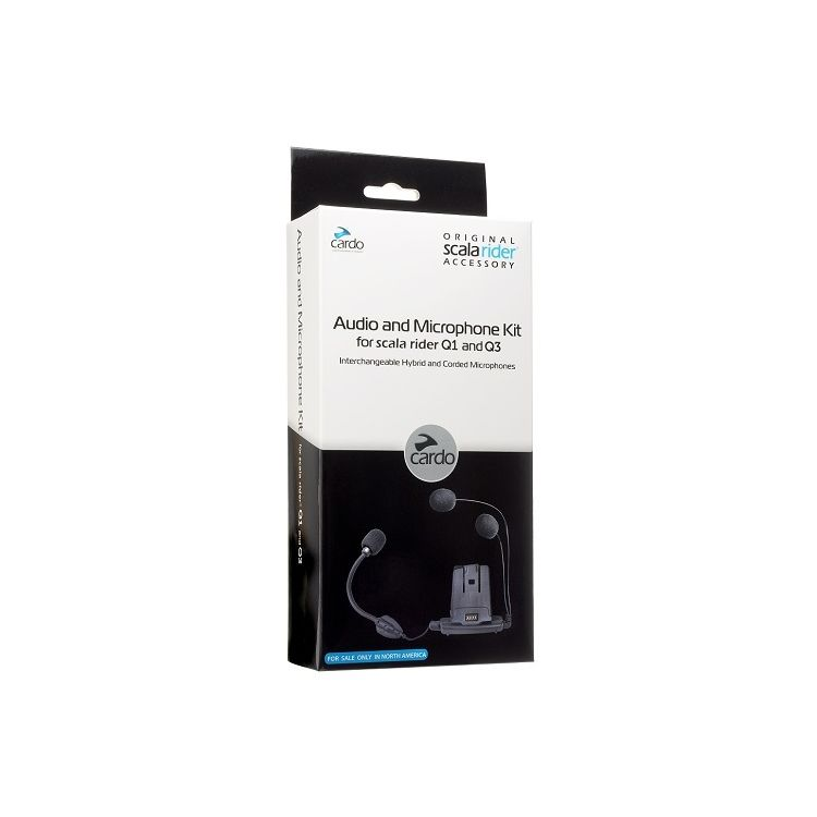Cardo Scala Rider Q1 / Q3 / QZ Audio & Microphone Kit
