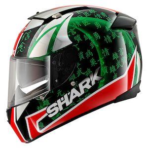 Shark Speed-R Sykes Replica Helmet  (Size XL Only)