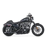 "Vance & Hines 3"" Round Twin Slash Slip-On Exhaust For Harley Sportster 2014-2015"