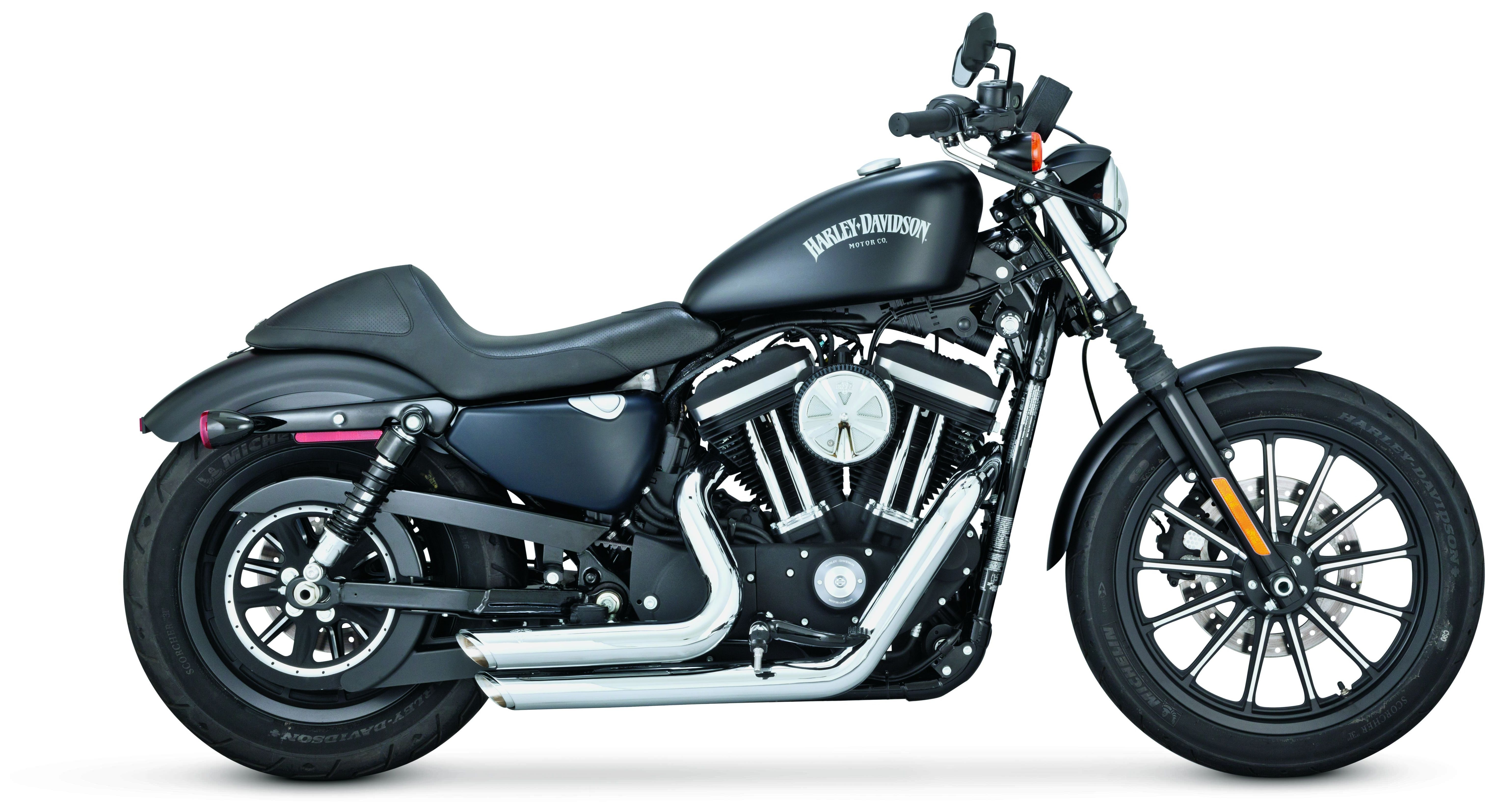 Vance Hines Shortshots Staggered Exhaust For Harley Sportster 2014 2019
