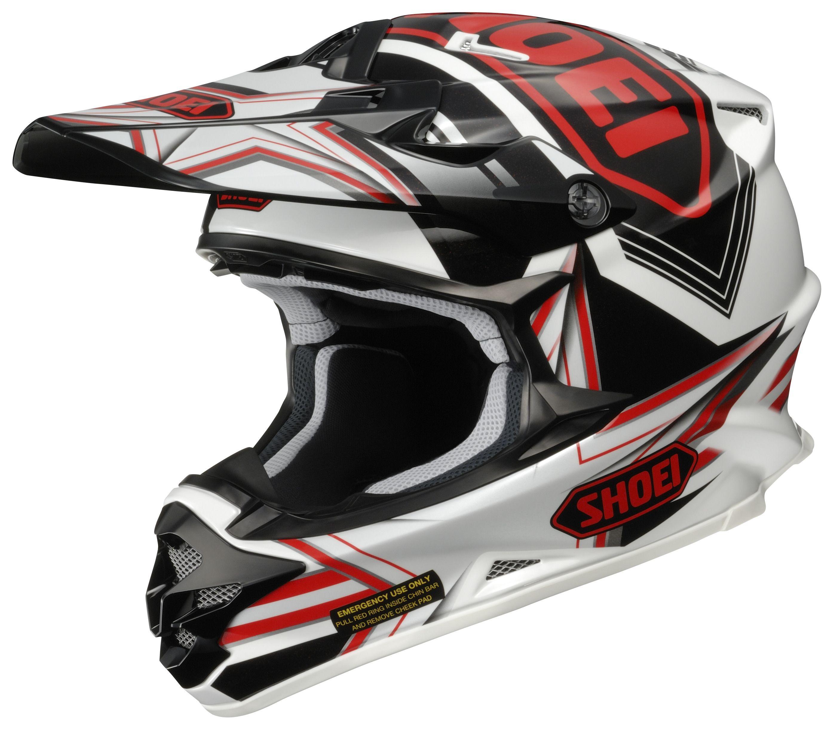 Mx Knee Braces >> Shoei VFX-W Reputation Helmet (Size SM Only) | 30% ($184 ...