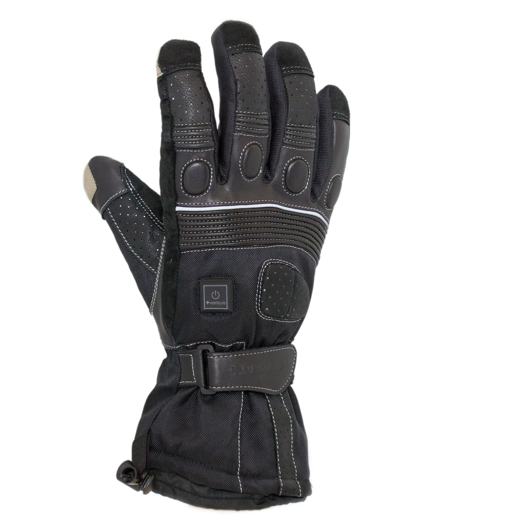 Venture Heated Clothing 12v Grand Touring Heated Gloves Black