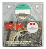RK Quick Acceleration Chain & Sprocket Kit Honda CBR600 F2/F3 1991-1998