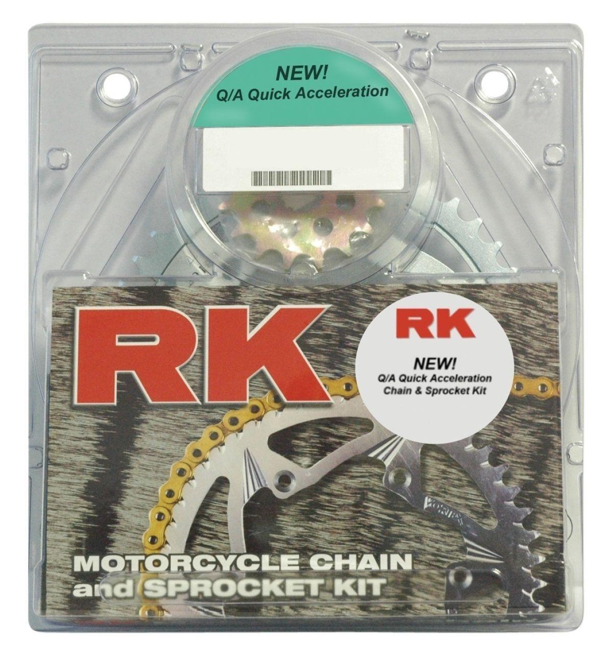 RK Quick Acceleration Chain & Sprocket Kit Suzuki GSXR 600 2001-2003 | 10%  ($14.14) Off! - RevZilla