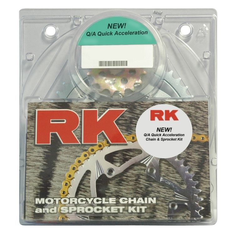 RK Quick Acceleration Chain & Sprocket Kit Suzuki GSXR 600 2001-2003