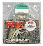 RK Quick Acceleration Chain & Sprocket Kit Kawasaki ZX6R/ZX636 2005-2006
