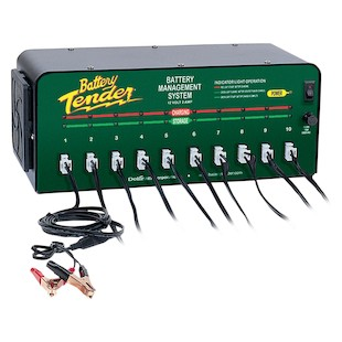 Battery Tender 10-Bank Battery Tender Charger
