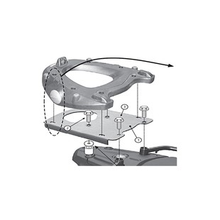 Givi SR5107 Monokey Topcase Mounting Hardware BMW F700GS
