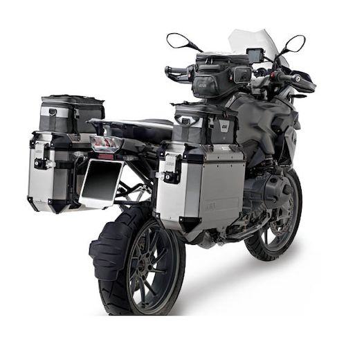 givi trekker outback 37 liter side cases revzilla. Black Bedroom Furniture Sets. Home Design Ideas