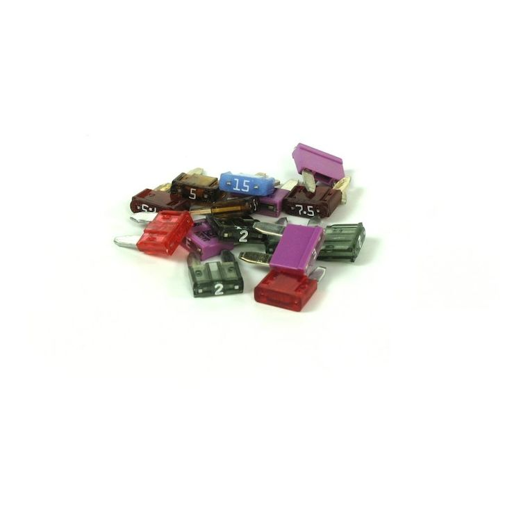 Denali Mini ATM Fuse Assortment 15 Pack