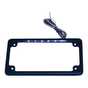 Custom Dynamics LED Flat License Plate Frame