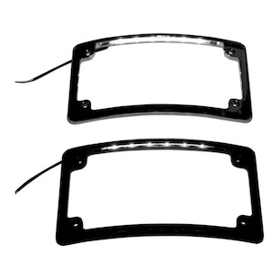 Custom Dynamics Radius LED License Plate Frame