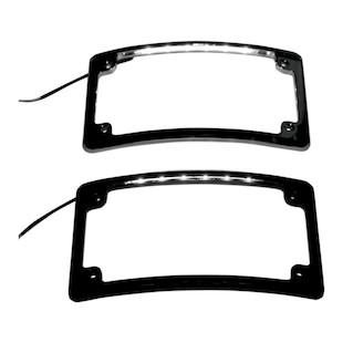 Custom Dynamics Radius LED License Plate Frame