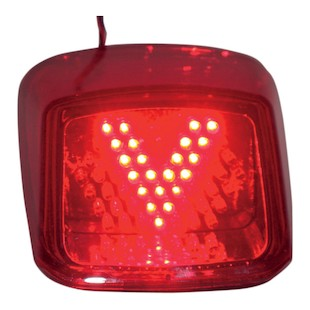 Custom Dynamics LED V Taillight For Harley V-Rod 2002-2011