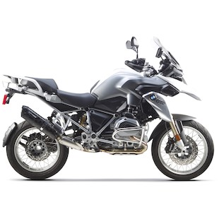 Two Brothers M-5 Black Series Slip-On Exhaust BMW R1200GS / Adventure