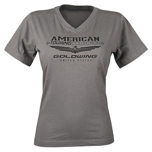 Honda Goldwing Touring Collection V-Neck Women's T-Shirt