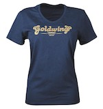 Honda Collection Women's Goldwing Sparkle V-Neck T-Shirt