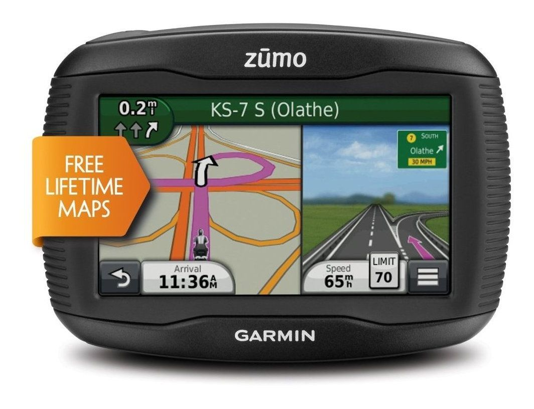garmin zumo 390lm gps revzilla. Black Bedroom Furniture Sets. Home Design Ideas