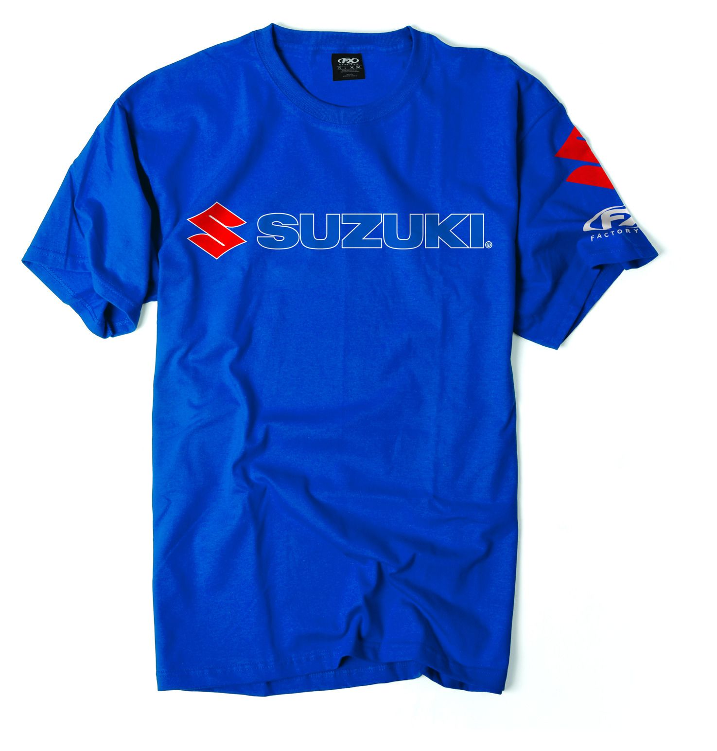 factory effex suzuki team t shirt revzilla. Black Bedroom Furniture Sets. Home Design Ideas