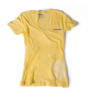 Factory Effex Suzuki V-Neck Women's T-Shirt