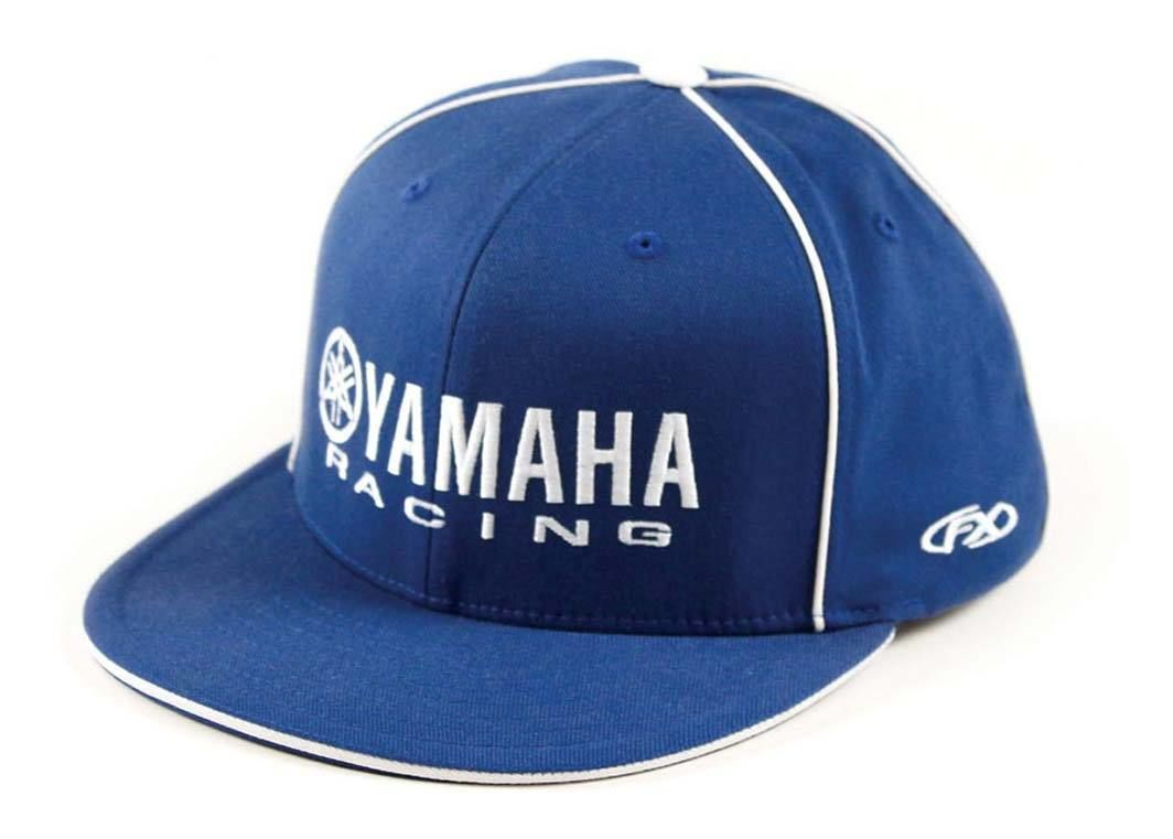 47b863f3fd0 Factory Effex Yamaha Racing Flex-Fit Hat - RevZilla