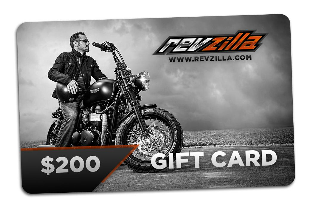 Gift Cards For Motorcycle Enthusiasts - RevZilla