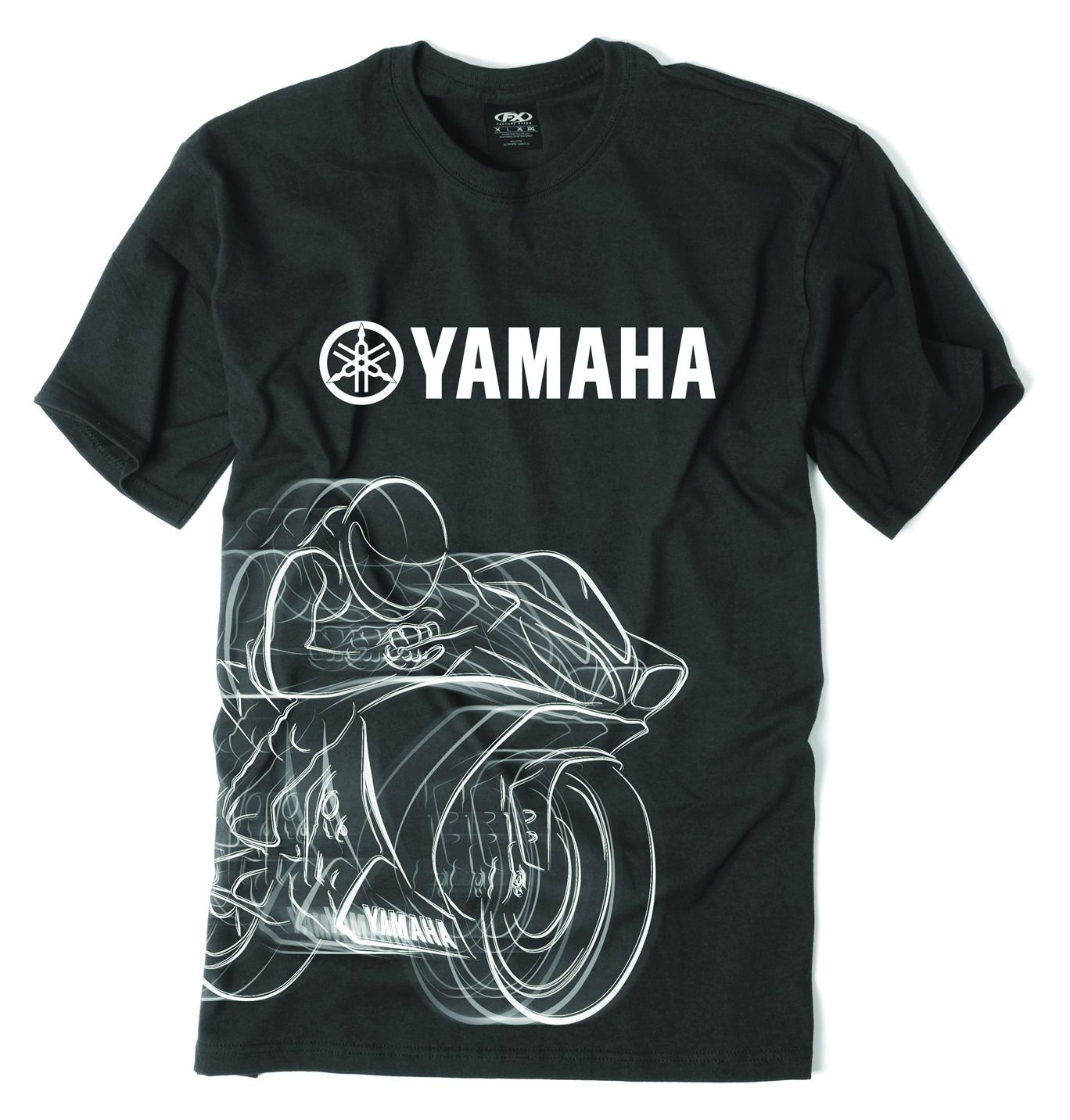 Black yamaha t shirt - Black Yamaha T Shirt 21