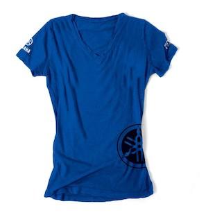 Factory Effex Women's Yamaha V-Neck T-Shirt