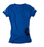 Factory Effex Women's Yamaha V-Neck T-Shirt