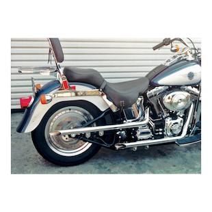Cycle Shack Shotgun Drag Pipes For Harley Softail 1990-2006