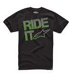 Alpinestars Ride It Carbon Fiber T-Shirt