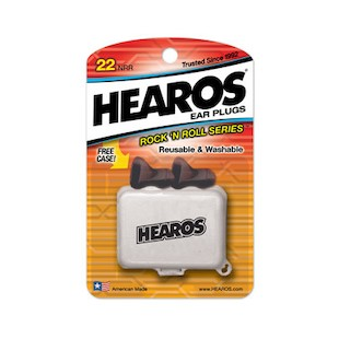 Hearos Rock N Roll Series earplugs