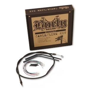 Burly Handlebar Installation Kit For Harley Street/Electra Glide w/ ABS 2008-2013