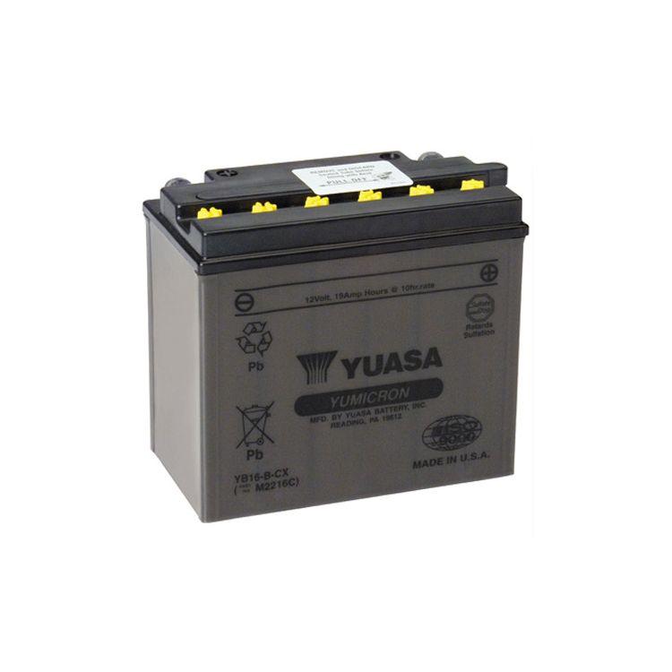 Yuasa YB16-B-CX Yumicron CX Battery