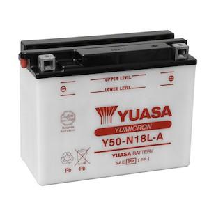 Yuasa Y50-N18L-A Yumicron Conventional Battery