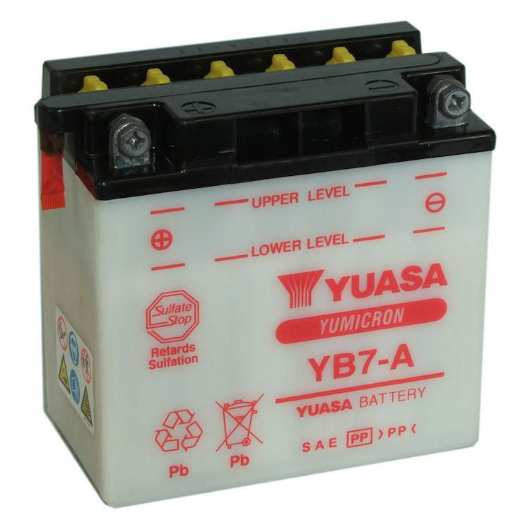 Yuasa YB7-A Yumicron Conventional Battery
