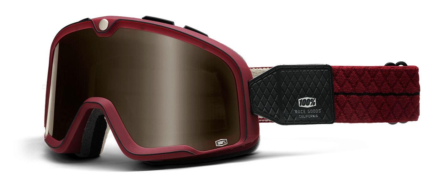 8fdca17992 100% Barstow Legend Goggles - RevZilla