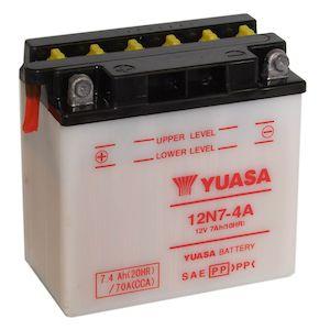 Yuasa Y12N7-4A Conventional Battery