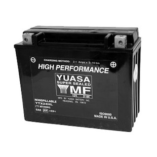 Yuasa YTX24HL Factory Activated AGM High Performance Battery