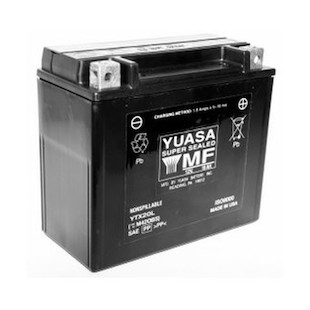 Yuasa YTX20L Factory Activated AGM Battery