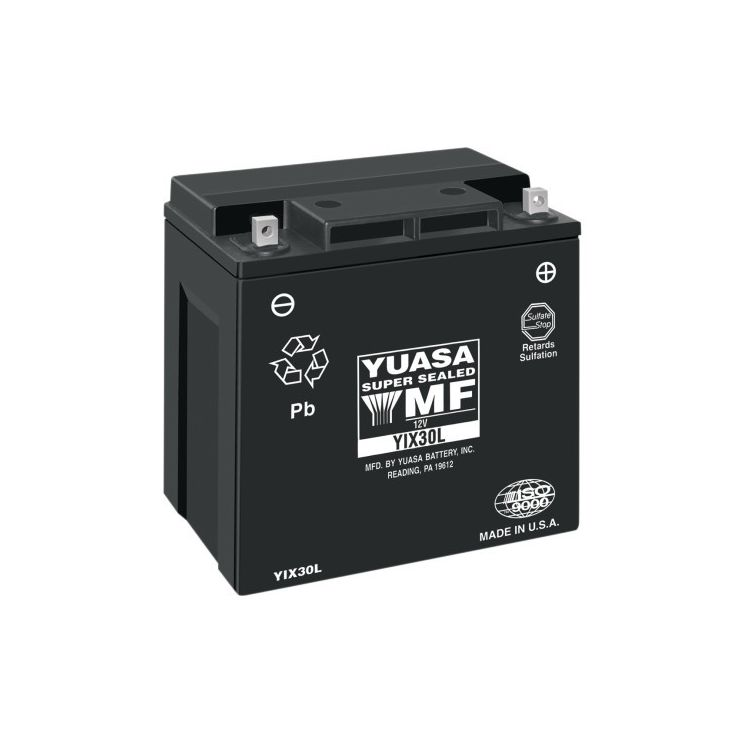 Yuasa YIX30L Factory Activated AGM Battery