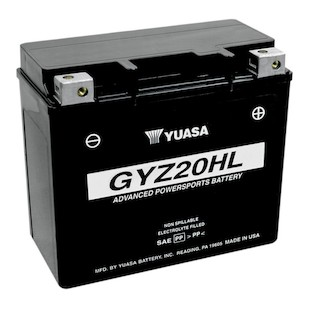 Yuasa GYZ20HL Factory Activated AGM High Performance Battery