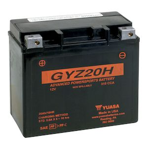 Yuasa GYZ20H Factory Activated AGM High Performance Battery