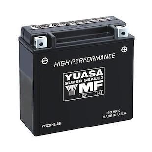 Yuasa YTX20HL-BS High Performance AGM Battery