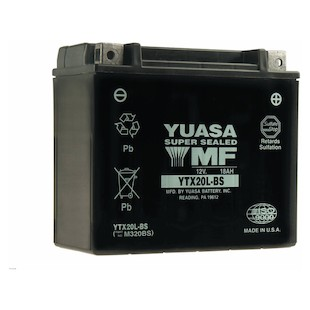 Yuasa YTX20L-BS AGM Battery
